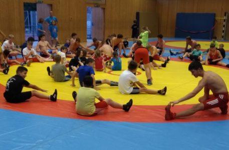 Mietrachinger Ringernachwuchs im Sportcamp